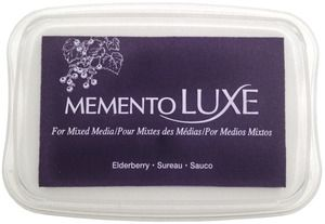 Memento Luxe ELDERBERRY Ink Pad Tsukineko ML-507