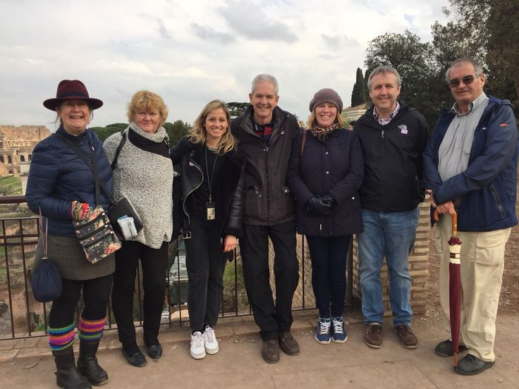 Being able to see the Ancient City from different perspectives is so important so that you get to see the city in different ways. On February 1st our guide Giulia took this photo with our clients on the Palatine Hill which let them look across to the Colosseum & over the Roman Forum. We are so glad that Giulia was able to teach our clients all about Ancient Rome while showing the highlights. For more info www.livitaly.com/tour/colosseum-underground-ancient-rome-tour/?src=pinterest