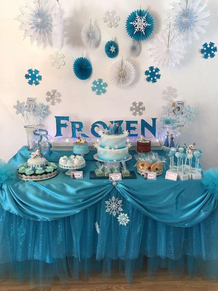 Frozen (Disney) Birthday Party Ideas | Photo 10 of 17 | Catch My Party
