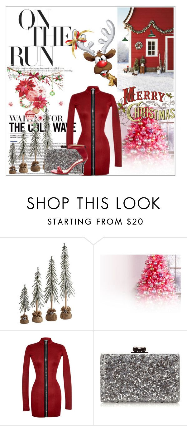 """Christmas Eve 2015"" by larinhacarter ❤ liked on Polyvore featuring Anthony Vaccarello, Edie Parker, 3.1 Phillip Lim and Christmas2015"