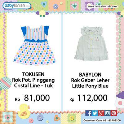 Dapatkan baju bayi berkualitas & bersertifikat SNI.  Gratis ongkir seluruh Indonesia.