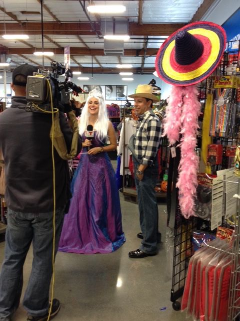 Special thanks to Carolina Sarassa from Telemundo Los Angeles 52 for helping Southern Californians find the perfect Halloween costumes.