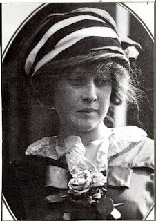 """A grief-stricken Madeleine Astor captured by a newsman's camera. Below, right: Newsies hand out papers announcing the Titanic Disaster, subheaded """"Mrs. Astor Is Saved"""" . . . as if she were the only person among 1,514 dead who really counted."""