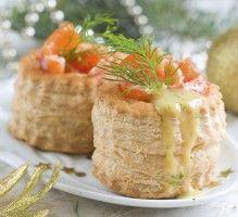 Vol-au-vent saumon poireau : Toutes les recettes et conseils de cuisine