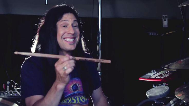 Mike Mangini with Dream Theater