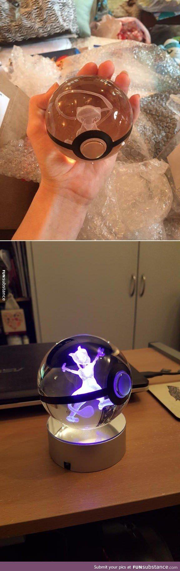 Epic Crystal Ball Pokemon Display