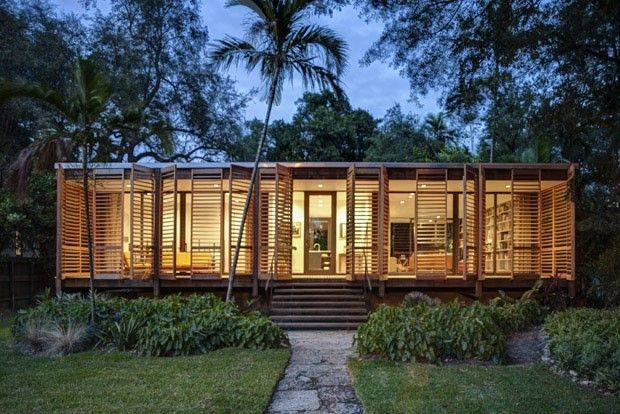 #brillart_architecture #miami #floride #brillart #wood #wildlife #house #maison_en_bois #forêt #bois #family_house #design #tropic #wood_design #noipic