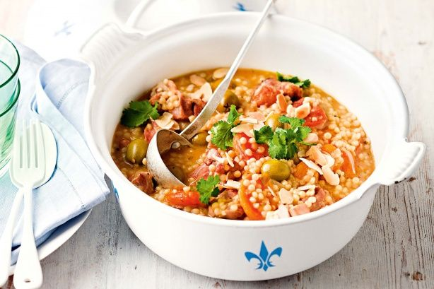 A one pot wonder - low GI, high in fibre - this inexpensive meal option is easy to prepare and packed with flavour.