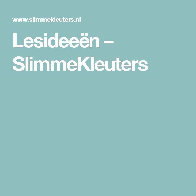 Lesideeën – SlimmeKleuters