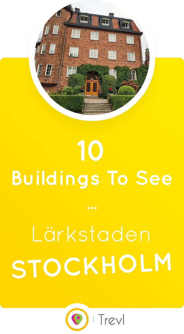 Discover the 10 most beautiful places to visit in two areas in northern Östermalm in Stockholm known as Lärkstaden and Villastaden.