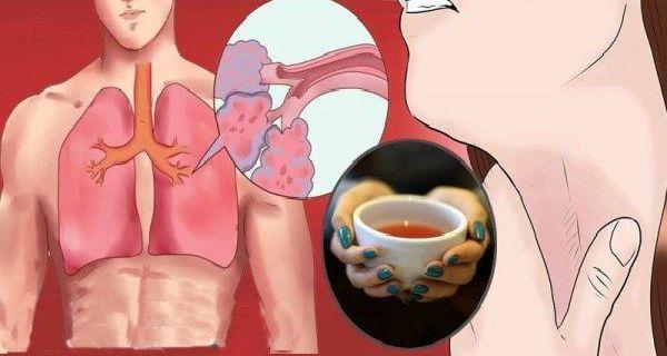 Každý dúšok z tohto 3 zložkového čaju vymaže z vaších pľúc všetky hlieny, toxíny a zápal! Vyskúšajte aj vy!