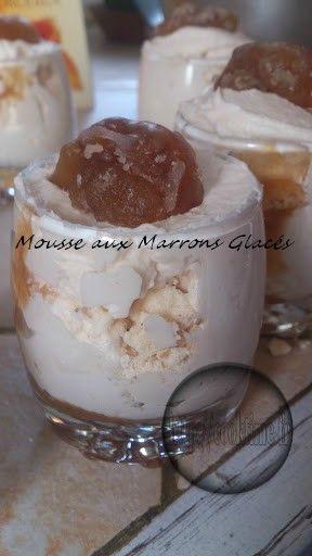 Mousse aux Marrons Glacés Thermomix 3