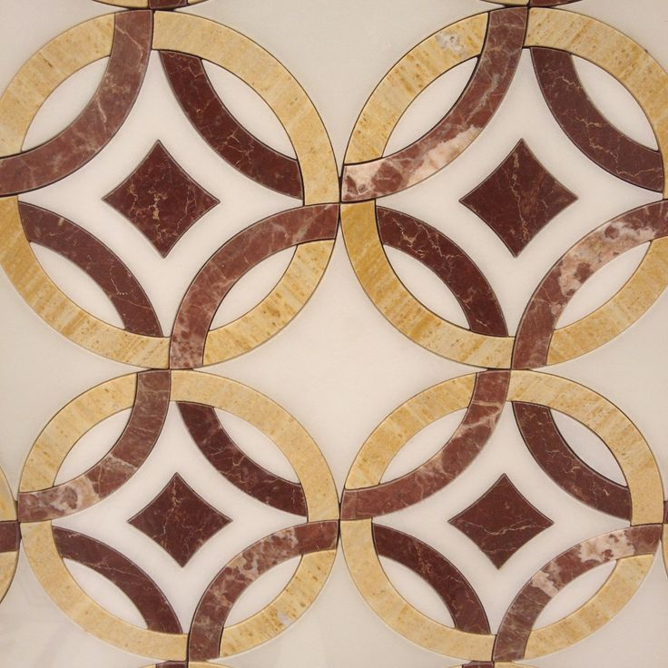 Color Marble Mosaic Designs : Images about water jet mosaic tiles on pinterest