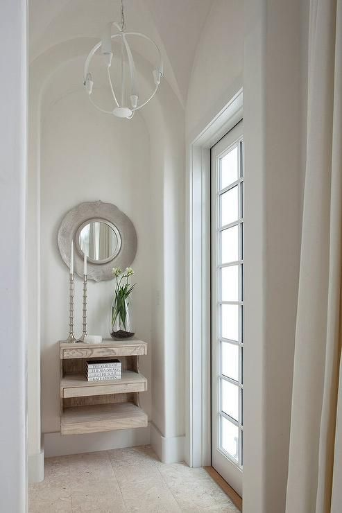 Arched Foyer Mirror : Best for the home foyers entryways exteriors