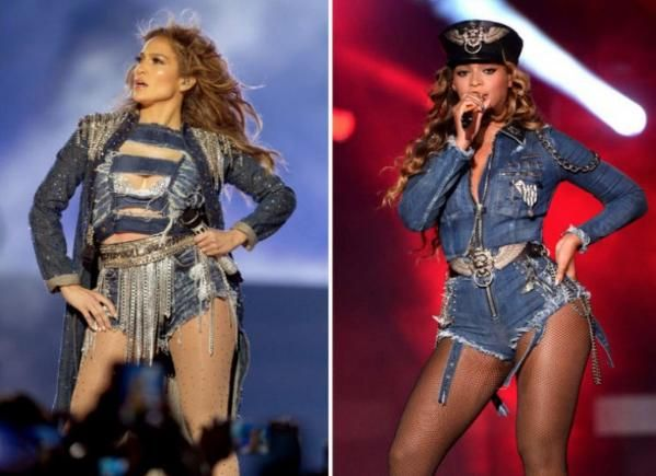 Proof That Beyonce Has Been Copying J. Lo's Style For Years!