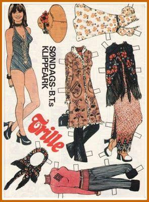 Ingrids Påklædningsdukker: Kendisser fra SBT