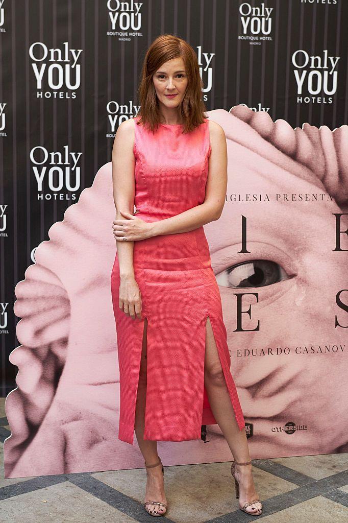 Madrid Spain July 01 Spanish Actress Ana Maria Polvorosa Attends