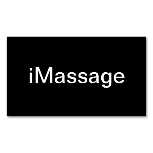 307 best massage business cards images on pinterest carte de massage business card colourmoves