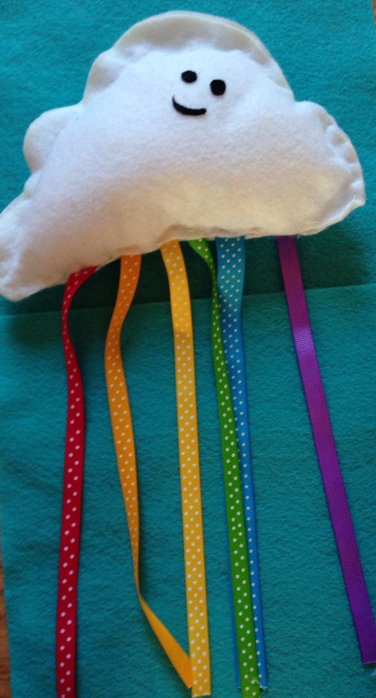 Sewing crafts for children - Cloud Kids Sew Project