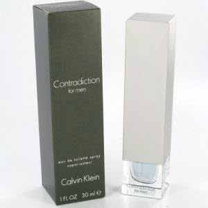 Calvin Klein Contradiction Men Eau de Toilette Spray 30ml Calvin Klein Contradiction For Men is a crisp, tangy blend of lime, tangerine, sage and lavender, colored with cardamom, coriander, nutmeg and pepper. Contrasting warmth follows as ebony, vetiver and  http://www.comparestoreprices.co.uk/perfumes/calvin-klein-contradiction-men-eau-de-toilette-spray-30ml.asp