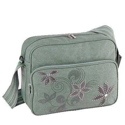 Lassig Messenger Bag Stones Grey - Anne Çantaları - Lassig