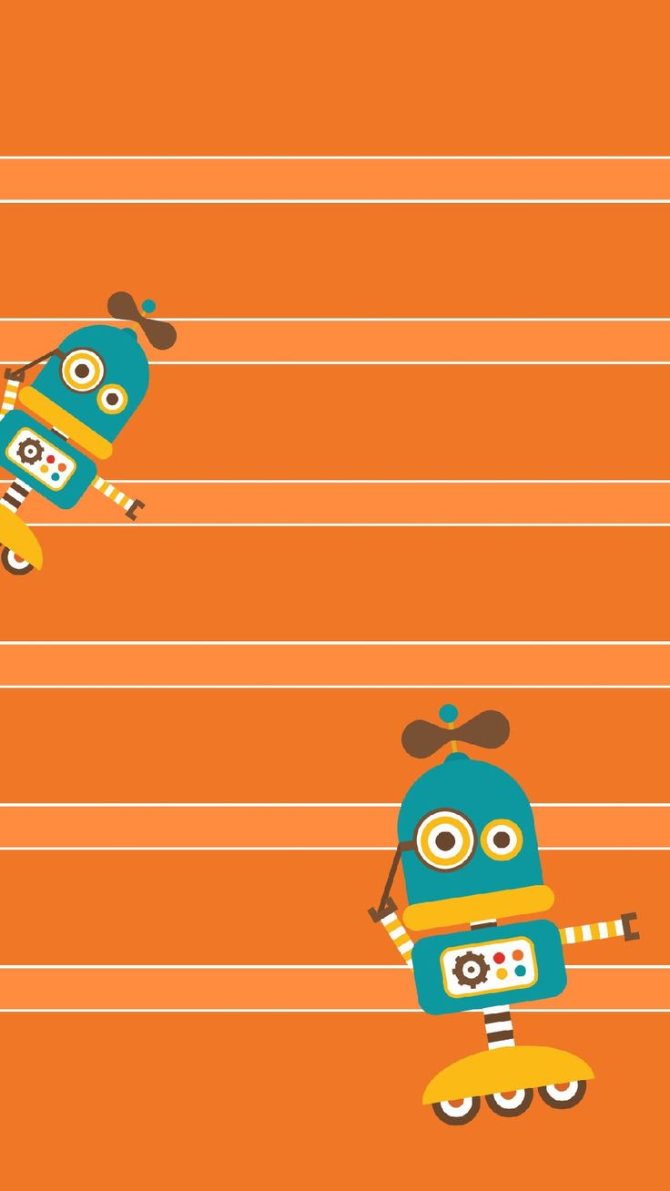 ↑↑TAP AND GET THE FREE APP! Shelves Funny Robots Orange Art Illustration Kids Cartoons Unicolor HD iPhone 6 plus Wallpaper ↑↑TAP AND GET THE FREE APP! Shelves Funny Robots Orange Art Illustration Kids Cartoons Unicolor HD iPhone 6 plus Wallpaper