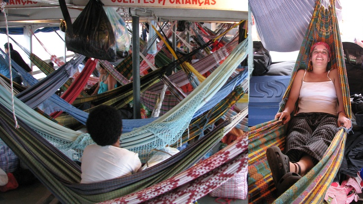Takin' the slow boat... This was my accommodation on the cargo boat that travelled down the Amazon! #greatwalker