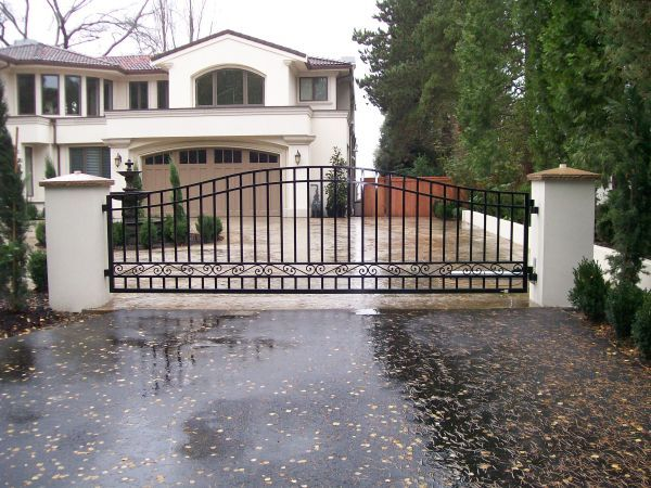 73 Best Images About Custom Residential Iron Gates By