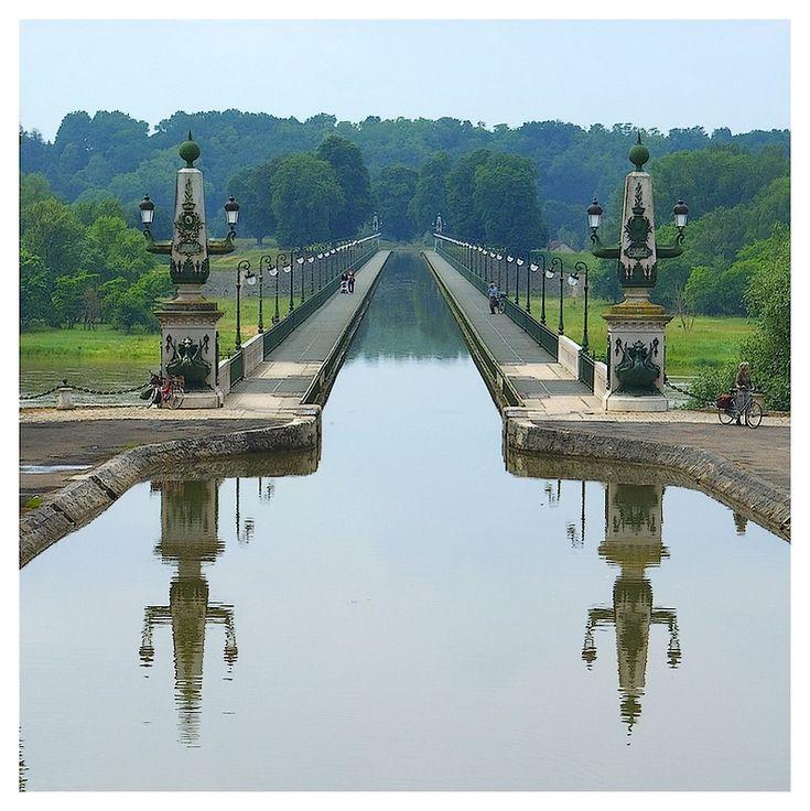 Pont canal de Briare (45250, Loiret, France)