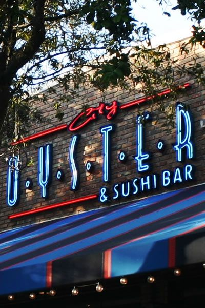 CITY OYSTER & SUSHI BAR in downtown Delray Beach is a local restaurant favored by the people of Delray Beach. City Oyster has amazing pastas, steaks and seafood. http://cityoysterdelray.com/ #cityoyster