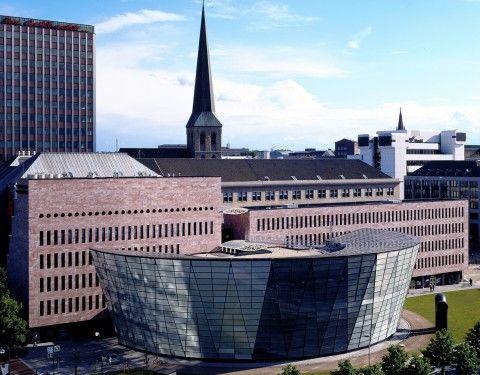 Cute Dortmund Municipal Library by Mario Botta Architect