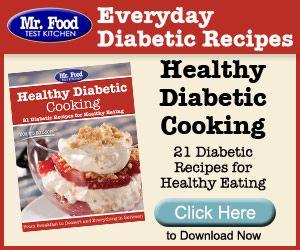 Mr Food Everyday Diabetic Recipes