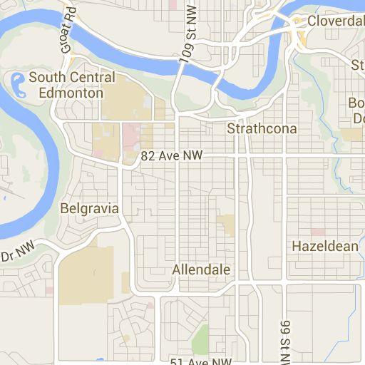 Garneau - Edmonton Public Schools - catchment area