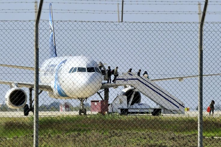 EgyptAir Flight Hijacked and Diverted to Cyprus - NYTimes.com