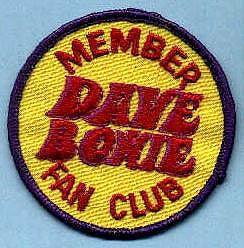 soundsof71: a-menina que caiu-a-terra-a: 70s Original pedaço de Bowieâ ???? s do clube de fãs Dave!