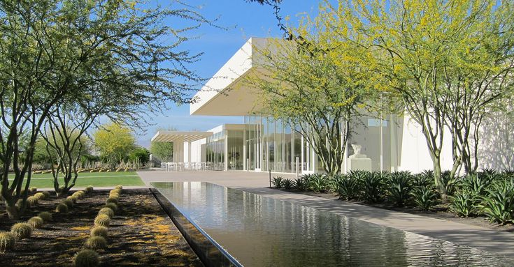 Sunnylands, Palm Springs estate of Annenberg.  A.Quincy Jones architect