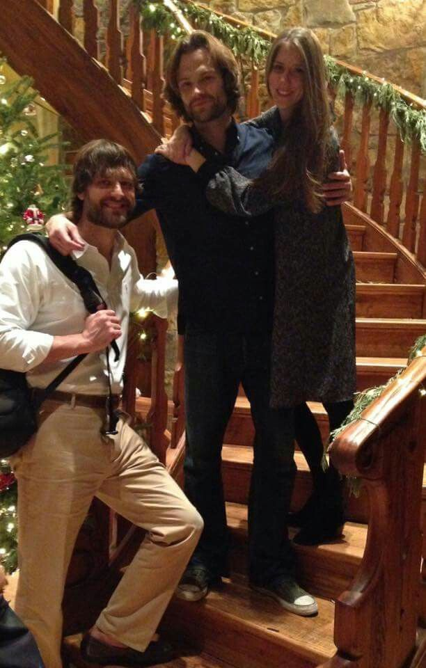 Jeff, Jared and Megan Padalecki