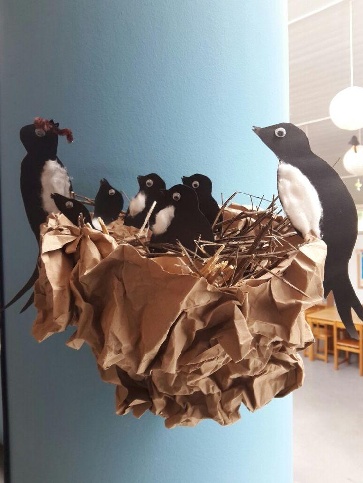 Χελιδόνι φωλιά - κατασκευή