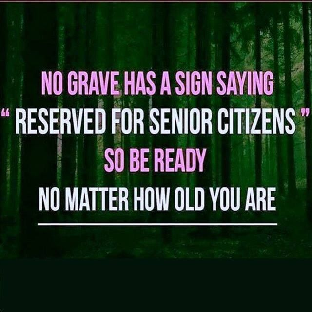 Death is haqq and only once Whatever the age you have planned to start practicing Islam (Quran and Sunnah) so let it be in the path of Allah and nobody promised the age