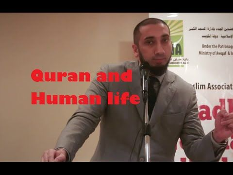 Three reasons make some born Muslims atheist –Nouman Ali Khan - YouTube