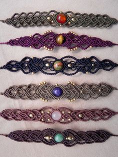 Macrame Delicate Tribal bracelet for gypsy hearts and bohemian souls. Spiritual Jewelry. Healing Crystals.