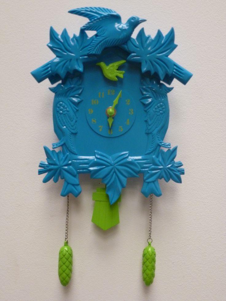 Reloj Cuco azul #cuco #reloj #azul #ohmicasa #decoración
