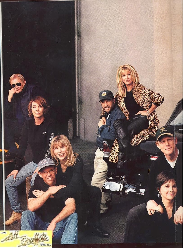 """""""American Graffiti"""" cast reunited"""