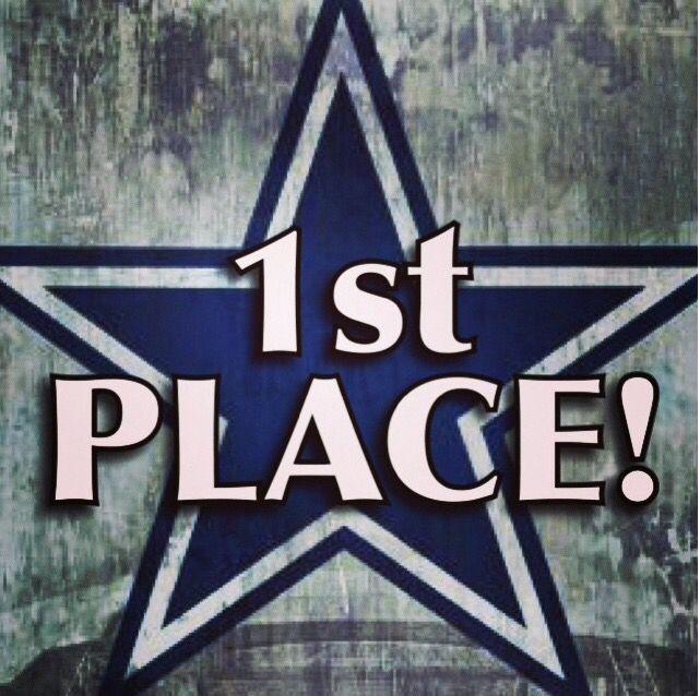Cowboys 1st place