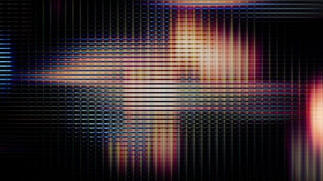 Video Flux 056: TV screen pixels fluctuate with color and video motion (Loop).   A Luna Blue  http://www.alunablue.com  Imagery for Your Imagination
