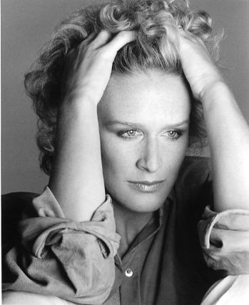 Glenn Close (American Actress) She is known for her Femme Fatale roles. Her movies she is most noted for are 101 Dalmatians,Fatal Attraction, The Big Chill, Dangerous Liaison, The World According To Garp, Paradise Road. . . The television roles she is applauded for are Sarah Plain and Tall and Damages.