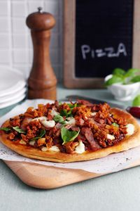 This Slimming World recipe for a home-made meat-feast pizza is the perfect Friday night treat for you and your friends to enjoy!