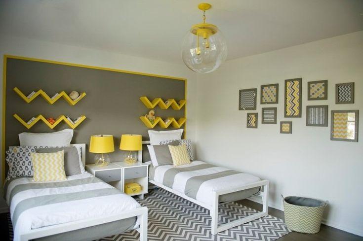 1000+ images about maison on Pinterest Baroque, Chevron bedrooms - couleur chaude pour une chambre