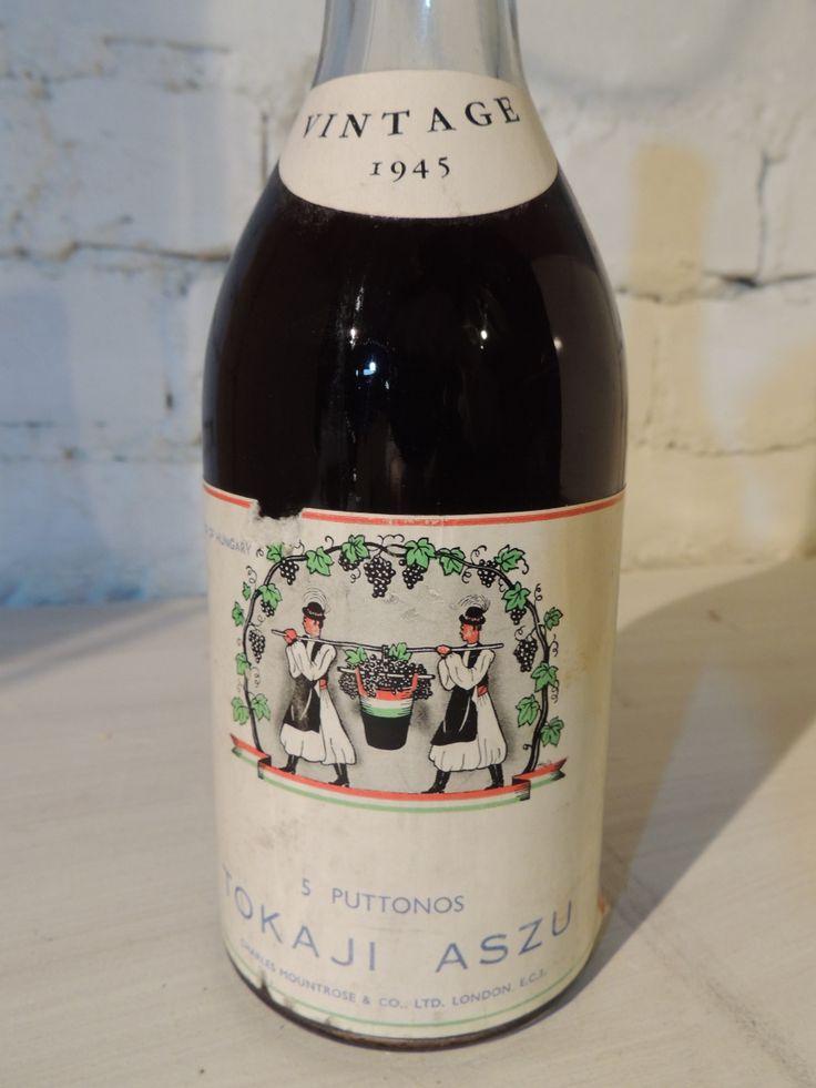 Tokaj Aszu 5 Puttons vintage 1945