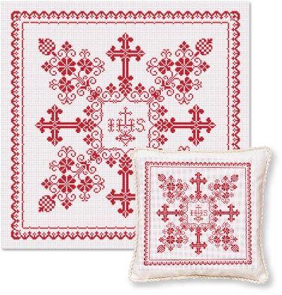 """EMS040 """"Christening Pillow"""""""